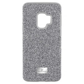 Swarovski Telefoonhoes met Bumper High Gray Samsung Galaxy S9* 5409455-1
