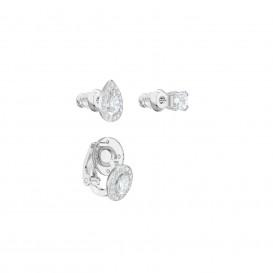 Swarovski Oorbellen Attract zilverkleurig 5410284