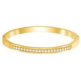 Swarovski Armband Live Thin goudkleurig L 5412055