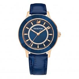 Swarovski 5414413 Dameshorloge Octea Lux rosékleurig-blauw
