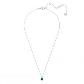 Swarovski Ketting Attract Trilogy zilverkleurig-groen 5416153
