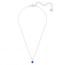 Swarovski Ketting Attract Trilogy zilverkleurig-blauw 5416156