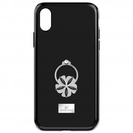 Swarovski Telefoonhoes met Bumper Mazy Ring Black iPhone* X 5416523