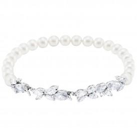 Swarovski Armband Louison Pearl zilverkleurig 5422684