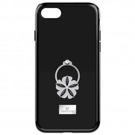 Swarovski Telefoonhoes met Bumper Mazy Ring Black iPhone* 6-6S-7-8 5423482