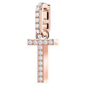Swarovski Remix Collection Charm T rosékleurig 5437615