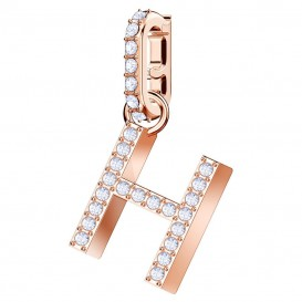 Swarovski Remix Collection Charm H rosékleurig 5437622
