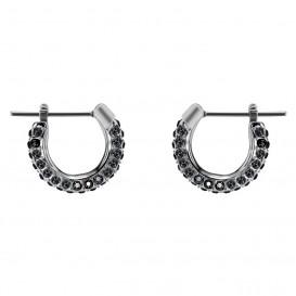 Swarovski Oorbellen Stone Small zilverkleurig-zwart 5446023
