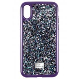 Swarovski 5449517 Telefoonhoes met Bumper Glam Rock Purple voor iPhone X/XS*