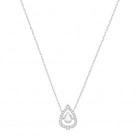 Swarovski Ketting Sparkling Dance Flower zilverkleurig 5451992