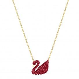 Swarovski 5465400 Ketting Ionic Swan goudkleurig-rood 38-42 cm