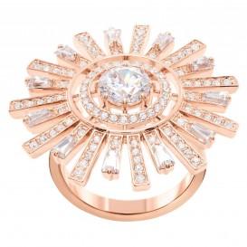 Swarovski 5482511 Ring Sunshine rosekleurig Maat 58