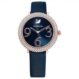 Swarovski 5484061 Dameshorloge Crystal Frost rosekleurig-blauw