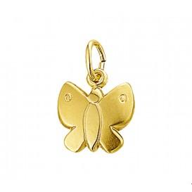 Bedel Vlinder Poli/mat Goud
