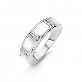 Ti Sento 12023MW zilveren ring Maat 58 is 18.5mm