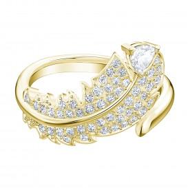 Swarovski 5515756 Ring Nice Simple goudkleurig Maat 60