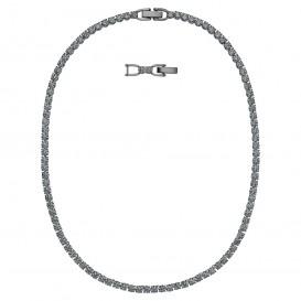 Swarovski 5517113 Ketting Tennis de Luxe zwart 38-42 cm