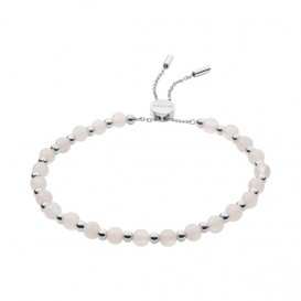 Skagen SKJ1186040 Armband Anette staal zilverkleurig-roze