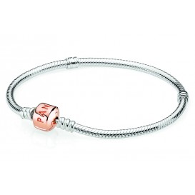 Pandora Rose Armband zilver met rosékleurige sluiting 19 cm 580702