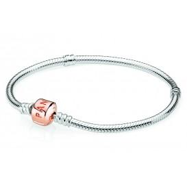 Pandora Rose Armband zilver met rosékleurige sluiting 20 cm 580702