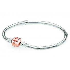 Pandora Rose Armband zilver met rosékleurige sluiting 21 cm 580702