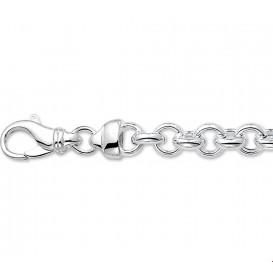 Armband Zilver Jasseron 6,5 mm 19 cm