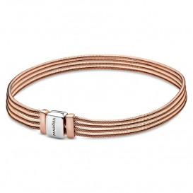 Pandora Rose Reflexions 588782C00 Armband Sliding Multi Snake rosekleurig 16 cm