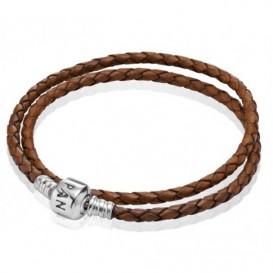 Pandora Armband leder bruin 590705CBN D1 35 cm