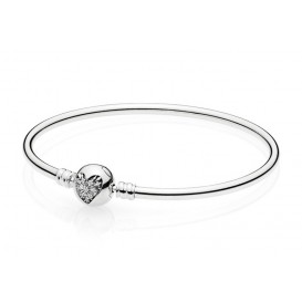 Pandora Armband Bangle zilver Heart of Winter 21 cm 596404CZ-21