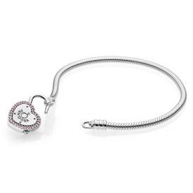 Pandora Armband zilver Lock your Promiss 18 cm 596586FPC