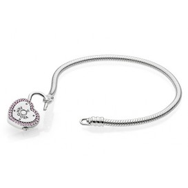 Pandora Armband zilver Lock your Promiss 19 cm 596586FPC
