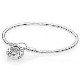 Pandora Armband zilver Moments Signature 21 cm 597092CZ