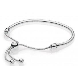 Pandora Armband Moments Silver Sliding 597125CZ-2
