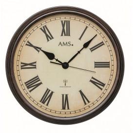 AMS Wandklok Stationsklok Zendergestuurd 5977