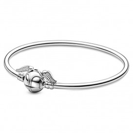 Pandora Moments 598619C00 Armband Harry Potter Gouden Snaai Clipbangle 19 cm