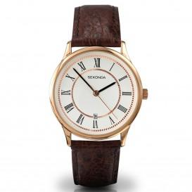 Sekonda Horloge 3269 Leer  Datum SEK.3269 Herenhorloge 1