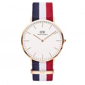 Daniel Wellington DW00100003 Classic Man Cambridge horloge