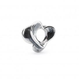 Trollbeads bedel zilver Ontluikende liefde TAGBE-00244