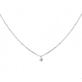 TFT Collier Witgoud Diamant 0.05ct H SI 41 - 43 - 45 cm