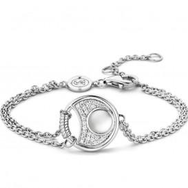 Ti Sento - Milano 2881MW zilveren armband