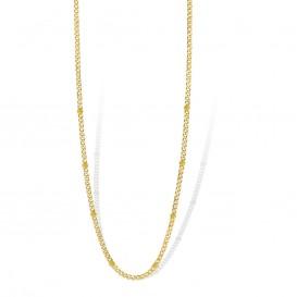 Mi Moneda NEC-02-SPI Necklace Spike Silver Goldplated