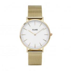 CLUSE CL18109 LA Bohème Mesh Gold White horloge