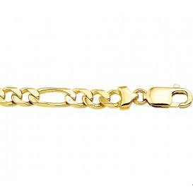 Armband Goud Figaro 6,8 mm 20 cm