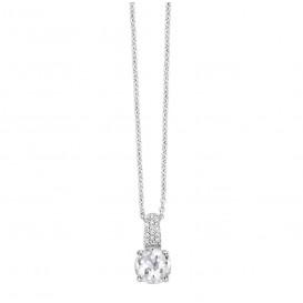 TI SENTO - Milano 3879ZI zilveren collier