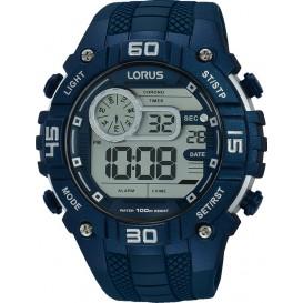 Lorus Herenhorloge Digitaal Blauw R2357LX9