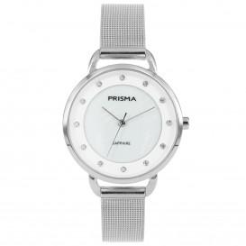 Prisma horloge 1939 dames edelstaal saffierglas 5 ATM P.1939 Dameshorloge 1