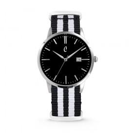 Colori Nato Connaisseur 5-COL498 - Horloge - nato - zwart/wit - ø 40 mm