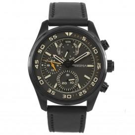 Prisma horloge 1825 Heren Multi-functie Edelstaal Bruin P.1825 Herenhorloge 1