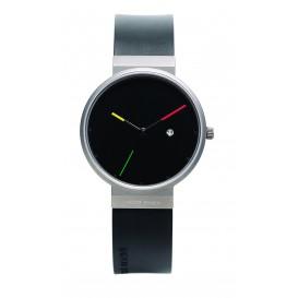 """Watch 640 Titanium Sapphire Jacob Jensen """"titanium"""" Horloge"""