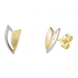Glow Gouden Oorbellen bicolor 206.0393.00